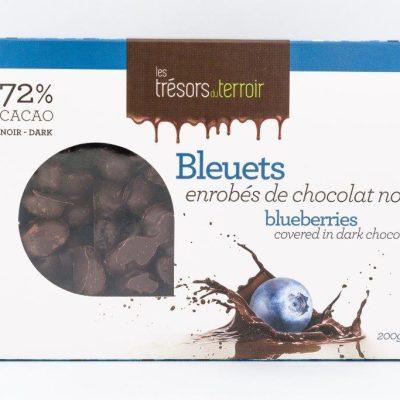 Bleuets enrobés de chocolat noir - Trésors du Terroir